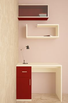 Wardrobe designs in different styles, materials & finishes are available in our bedroom design gallery. Study Tables, Wardrobe Design Bedroom, Cozy Corner, Organize Your Life, Colorful Drawings, Multifunctional, Flamingo, Color Pop, Living Spaces