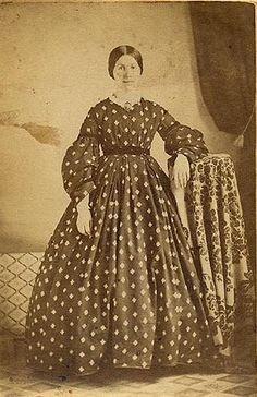 Diamond print dress