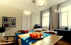 Bright+spacious+elegant+apartment+close+to+the+Grand+Market+Hall+++Vacation Rental in Budapest from Rental Apartments, Budapest, Ideal Home, Condo, Table Settings, Vacation, Elegant, Luxury, City