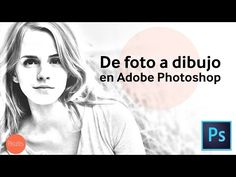 Efecto de dibujo en Photoshop | HD | Tutorial en Español - YouTube