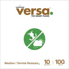 Versa Plank Woods are termite resistent which does not attract insect for nesting. You can eliminate this worry and create a home with thermite resistent by  Versa Plank Woods
