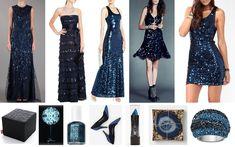 Moda - Vestidos azuis - http://espacomulher.net/moda-vestidos-azuis/