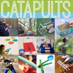 Catapults from quirkymomma