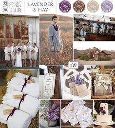 "lavender & hay, pin stolen from my cousin's future ""hipster wedding"" haha Hay Wedding, Wedding Bells, Dream Wedding, Wedding Color Schemes, Wedding Colors, Wedding Flowers, Wedding Themes, Wedding Decorations, Wedding Ideas"