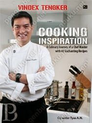 Cooking Inspiration is more than just a cook book. It is the combination of Vindex Tengker's experiences, amazing culinary journey and great passion.