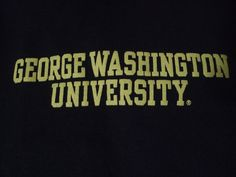 George Washington University T shirt for your baby boy or baby girl! Starting them young with thoughts of college and higher education!