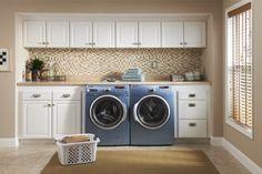 Organization makes laundry fun! #organize #laundry