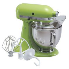 must-have! KitchenAid Artisan 5 Qt Tilt Head Mixer In Green Apple