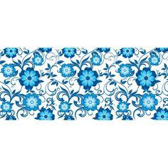 flores azul em desenho - Pesquisa Google