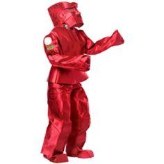 Rasta Imposta Costumes Rock'em Sock'em Robots Red Rocker