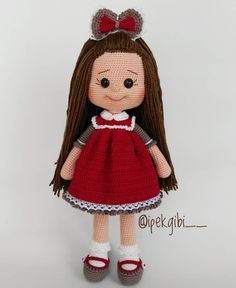 In this article we will share the most beautiful free amigurumi dolls crochet patterns. You can find everything you want about Amigurumi. Crochet Animal Patterns, Crochet Doll Pattern, Crochet Patterns Amigurumi, Baby Knitting Patterns, Amigurumi Doll, Crochet Dolls, Doll Patterns, Crochet Baby, Free Crochet