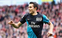 One of the best forwards in todays game. RVP, captain of Arsenal Gunners. leading by example