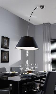 Hanglamp verstelbaar zwart