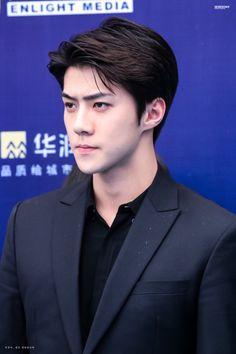 Sehun - 160409 16th Top Chinese Music Awards, red carpet Credit: Sehoony. (第十六届音乐风云榜年度盛典)