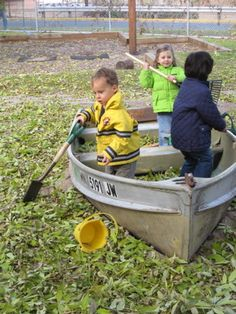 good ideas to take the bottom out of the boat so it doesn't get filled with garden leaves etc