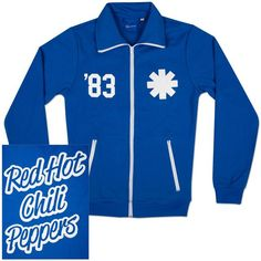 Check out Red Hot Chili Peppers Logo Track Jacket on @Merchbar.