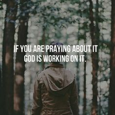 """""""The Lord is good to those who wait hopefully and expectantly for Him, to those who seek Him."""" Lamentations 3:25. Be assured if you are praying about something, He is working on it. Wait with expectancy and hope. Your miracle is at hand."""