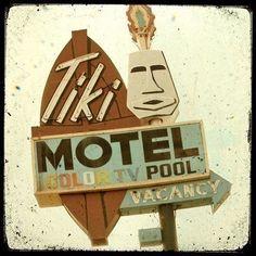 Tiki Motel Neon Sign Fine Art Photo by FriendlyMade on Etsy, Fine Art Photo, Photo Art, Teal Wall Art, Tiki Decor, Hotel Motel, Five Star Hotel, Beach Signs, Vintage Signs, Neon Signs