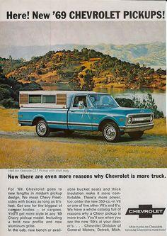1969 car advertisement | Chevrolet Photo Searches / 1969 chevrolet truck