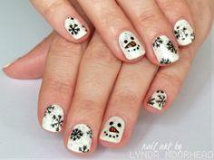 Lyndar the Merciless: christmas #nail #nails #nailart