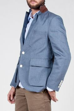 Chic 'Jonathan' blazer by Billy Reid.