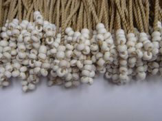 Tswana beaded fringe