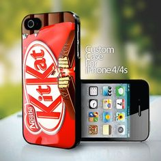 KIT KAT Chocolate Wafer for iPhone 4 or 4s case