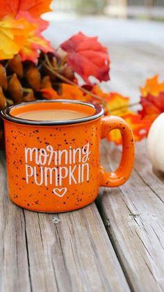 Morning, Pumpkin mug - Herbst - Kaffee