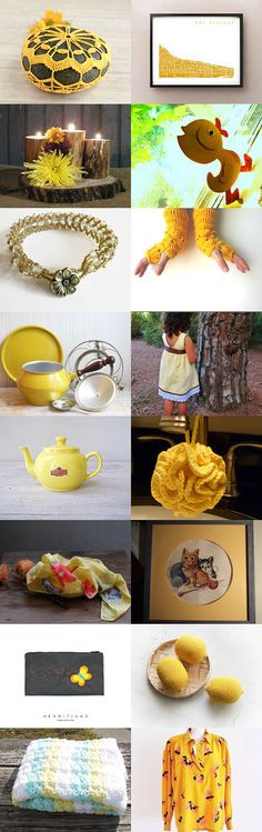 The Sunny Side of Summer by Thea Jackson on Etsy--Pinned with TreasuryPin.com