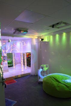 St Giles Day Hospice, Sensory room  - KKE Design
