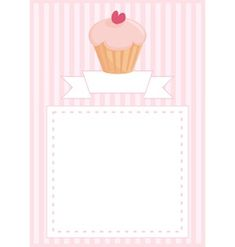 Delicious cupcake card with sweet background Free Vector Images, Vector Free, Cupcake Card, Royalty, Sweet, Artist, Cards, Food Items, Royals