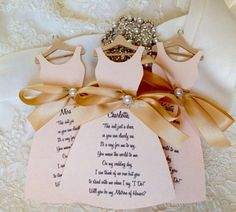 Cute way to ask your bridesmaids