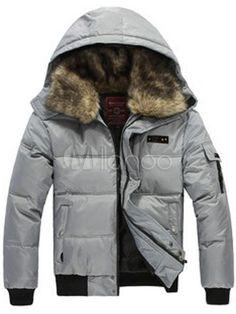 37,95€  Veste matelassée houndstooth Print coton intelligent masculin Mode  Homme, daebb2bccbe