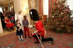 Children from Helen & Douglas House and Roald Dahl's Marvellous Children's Charity visit Clarence House Go Fug Yourself Royal Christmas, Christmas Tree, Christmas 2017, Christmas Cards, Christmas Decorations 2017, Douglas House, Camilla Duchess Of Cornwall, Prince Charles And Camilla, Royals