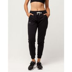 Under Armour Favorite Jogger Pants ($50) ❤ liked on Polyvore featuring activewear, activewear pants, fleece lined sweatpants, cotton sweat pants, sweat pants, under armour sportswear and pocket sweatpants