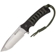 Couteau Berreta Tactical Acier 440 Manche G-10/Paracorde Green Etui Kydex BE73139 - Free Shipping Couteaux BERETTA