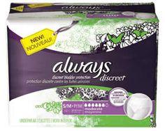 FREE Always Discreet Underwear Sample Pack on http://www.icravefreebies.com/