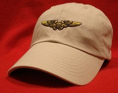 4ea2e150e6f Pilot Ball Caps sells quality Naval Aviation wings hats online - Pilot and  Air Crew wings from the Navy