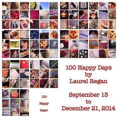 Today's Gratitude List - Linkup No. 60 + 100 Happy Days - Day 100 - by Laurel Regan at Alphabet Salad. Happy December, 100 Happy Days, One Image, Gratitude, Reflection, Alphabet, The 100, Salad, Blog