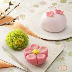 Wagashi for Spring