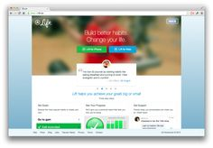Want to Start a Daily Blogging Habit? Try Lift App.