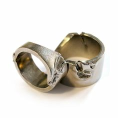 Vladi Rapaport_For a moment of extreme anger that must be self-restrained. A set of two bitten rings as a reminder of rage that needs to be released immedi...
