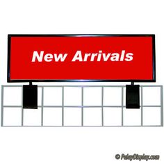 Simply attach this gridwall signholder to the top of any grid panel and insert a sign for maximum impact. The gridwall sign topper has a black powdercoat finish. Grid wall sign topper measures x Retail Supplies, Grid Panel, Portable Display, Store Fixtures, Slat Wall, Wall Signs, Signage, Kiosk, Craft