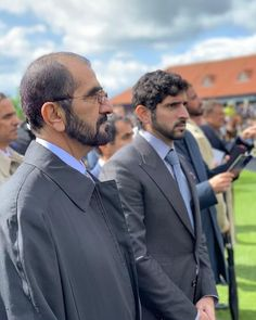 H Sheikh Mohammed bin Rashed & H.H Sheikh Hamdan bin Mohammed bin Rashed at 🏇🏻 Royal Military Academy Sandhurst, Dubai, Royal Family Pictures, Handsome Arab Men, Performance Evaluation, Young Leaders, Court Dresses, Beautiful Men Faces, Male Face