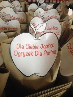 Promocja jabłek w markecie? Oni to dobrze robią.