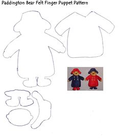 Free Paddington Bear Puppet Pattern | Scribd
