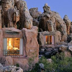 South Africa's most luxurious resorts, Kagga Kamma Private Game Reserve.