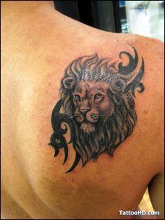 Roaring Lion Tattoo Lion Tattoos - Tattoo Image World