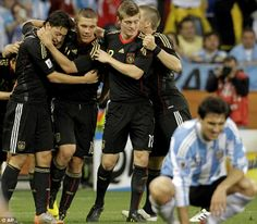 Stats of the show: Germany put Argentina to the sword in their thumping 4-0 victory back i...