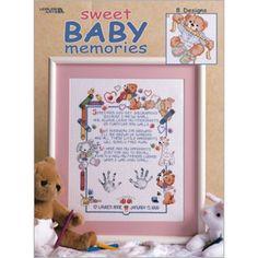 Sweet Baby Memories Cross Stitch